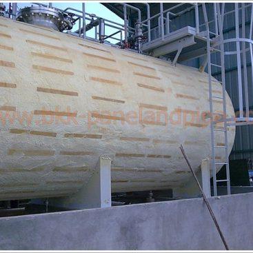 งานติดตั้งฉนวนกันความร้อน-เย็น\ฉนวนโพลียูเรเทนโฟม (Polyurethane Foam)