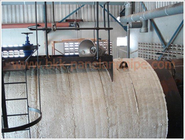 งานติดตั้งฉนวนกันความร้อน-เย็น\งานติดตั้งฉนวนใยหิน (Rock wool) งานติดตั้งฉนวนใยแก้ว (Glass Wool)